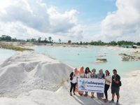 Danau Kaolin di Belitung