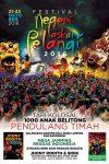 Festival Laskar Pelangi Digelar 21-23 Oktober 2016