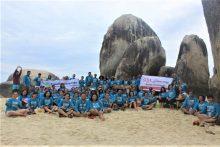 Paket wisata 2D1N Belitung Hotel Bintang 3. IDR 1.200k (10 pax)